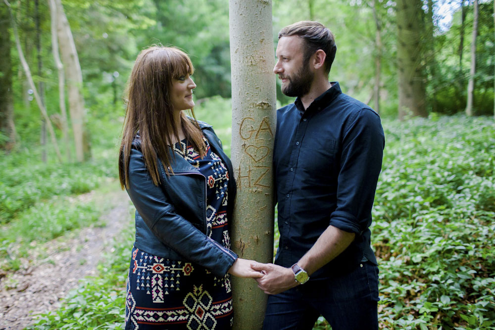 Wendover Woods Pre Wedding Photography - Hannah and Gareth